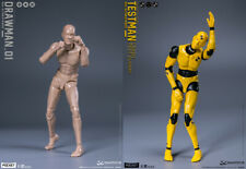 DAMTOYS 1/12 Scale DPS01/DPS02 DARW/TEST Male Action Figure Body Model toys