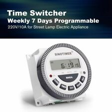 Programmable Digital Timer Switch Relay Control Weekly Days Electric Appliance