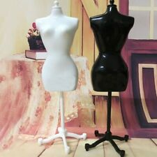White Black Dress Form Clothing Clothes Gown Gisplay Mannequin Model Stand