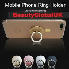 New Finger Grip Ring Phone Stand Holder Mount For Apple iPhone & Samsung, LOT
