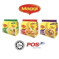 MAGGI Malaysian Curry Instant Noodles Ramyun Hot & Spicy 5 x 79G