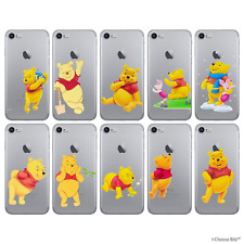 Disney Winnie the Pooh Gel Case for iPhone 5 5s SE 6 6s 7 Screen Protector Cover