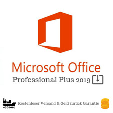 Microsoft Office 2019 Professional Plus | Key 32/64 Bit | ESD | Original | DE