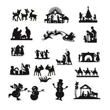 Family Christmas Cutting Dies Metal Stencil DIY Scrapbooking Album Paper Card