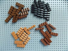 Lego  Brick, Modified 1 x 4 Log sold in lots of 10 pieces  pick your color