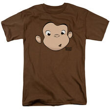Curious George Poses ROLLING FUN DER Licensed Adult Long Sleeve T-Shirt S-3XL