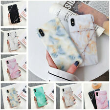 Ultra Slim Pastel Marble Pattern Rubber Soft TPU Back Case Cover For Smart Phone