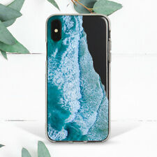 Blue Ocean Wave Sea Water Turquoise Case For iPhone 6s 7 8 Plus Xs Max XR Girl