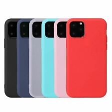 Case For iphone 11 Pro Max 7 6 6S 8 Plus 5 5S SE X XR XS Max Soft Silicone Cover