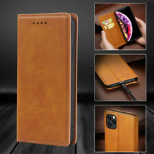For iPhone 11 Pro Max XS XR X 8 7 Plus Leather Flip Wallet Card Case Slot Cover