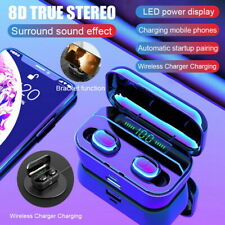 5.0 Smart Headset Wireless Earphones Mini Earbuds Stereo For iPhone 11 Pro Max