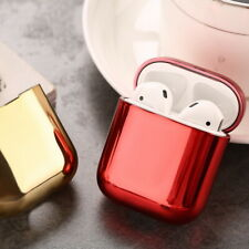 Cute Plating Earphone Protective Silicone Cover For Apple Airpods Charging Case