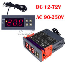 Digital AC 90-250V DC 12~72V MH1210W Temperature Humidity Thermostat Controller