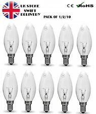 60W Candle Warm White Light Bulb BC B22 Bayonet Cap Dimmable Lamps 630 OTL
