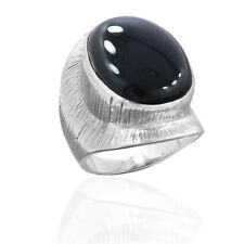 Thanksgiving Black Onyx Silver Ring, 925 Sterling Silver Onyx Jewelry Size-7
