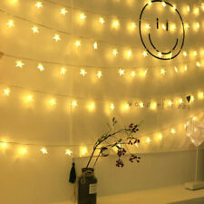 20-50 LED Star Lights Battery Garden Fairy String Micro Wedding Party Warm White