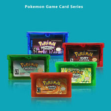 Pokemon Game Card Fire For GBA Game/Leafgreen Sapphire Version/Emerald/Ruby