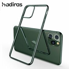 Midnight Green Plating Case for iPhone 11 Pro Max Luxury Soft Silicone