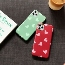 Heart Love Matte IMD Soft Back Case Cover For iPhone 11 Pro MAX XS XR X 8 7 6S
