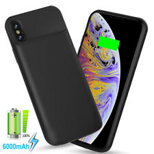 6000 mAh Battery Charger Case For iPhone XR X XS Max Power Bank Back Cover US