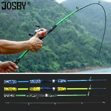 Fishing Rod Spinning Casting Lure Carbon Pole Travels Hand Lures Portable Rods