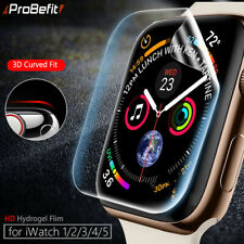 Screen Protector Clear Full Coverage Protective Film for iWatch 4 5 40MM 44MM