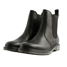 Cult Black Leather Ankle boots