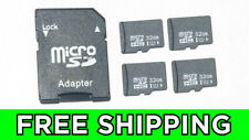 32 - 64 - 128 GB Micro SD Card High Speed SDXC SDHC Class 10 with SD Adapter