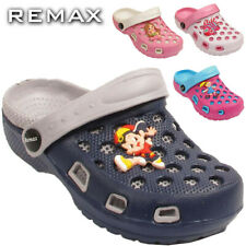 Boys Girls Clogs Sandals Comfy Flats Kids Infant Multicolored Shoes UK 7-10.5
