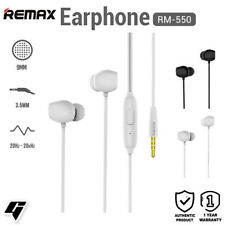 Remax Wired Music in-Ear Earphone with Wire Control and Microphone RM-550