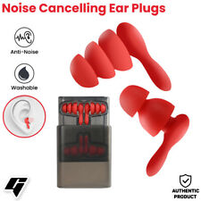Earplug 2 Pairs Waterproof Hearing Protection Noise Cancelling For Sleeping and