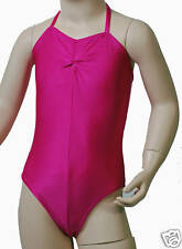 Lycra Leotard Camisole Gathered Bust - Ballet Colours Dance Leotard (#Carmel)