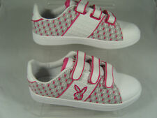 LADIES PLAYBOY TRAINERS (OCTAVIA) WHITE/PINK