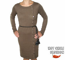VERO MODA STRICK-KLEID FILLIPA LS KNITTED NEW KNEE DRESS GR. S,M,L,XL