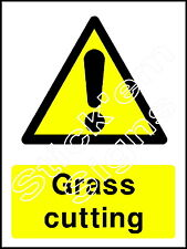 Grass cutting - COUN0028 stickers & signs