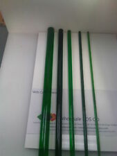 GREEN PERSPEX TINTED ACRYLIC PMMA ROUND ROD / SOLID BAR TRANSLUCENT COLOUR 500MM