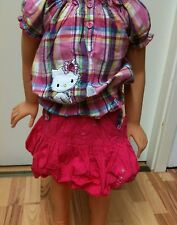Orginal Hello Charmmy Kitty Rock + Bluse Gr.92-128 in 2 Farben