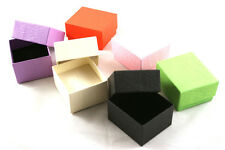 100 Ring Earring Display Boxes small gift Presentation - colour choice (ET-2)