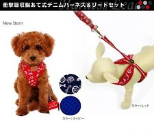 DHP DOG HARNESS AND LEAD SET *POSH POOCH* CHIHUAHUA + PUPPY