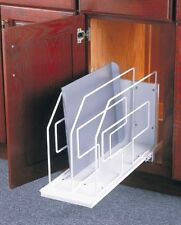 KV ROLL OUT TRAY DIVIDER, PULL OUT, BAKING SHEET HOLDER FETDRO WH