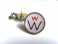 JAMES BOND 007 W TECTRONICS WILLARD WHYTE LAPEL PIN BADGE TIE PIN GIFT