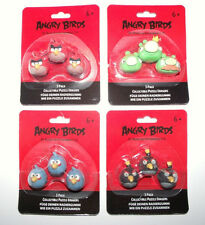 Angry Birds Radiergummis -  Erazer 3er-Pack  - Collectible Puzzle Erasers