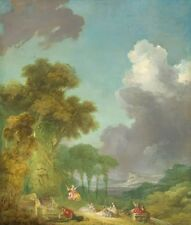 Swing Jean Honore Fragonard 1780 Art Photo/Poster Reproduction Gift Idea