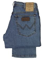 WRANGLER BNWT MENS TEXAS STONE WASH STRETCH REGULAR FIT JEANS. *30 TO 48