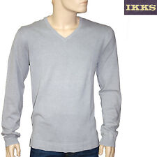 IKKS men pull coton col V gris homme taille XXL