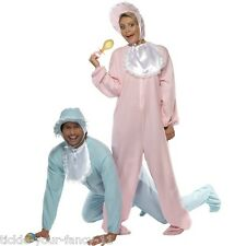 New Ladies & Mens Adult Big Baby Romper Fancy Dress Costumes Outfits