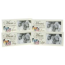 Mum Wooden Butterfly Photo Frame - NEW - FREE POSTAGE
