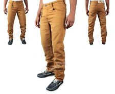 NEW MENS DESIGNER ETO JEANS EM336 TAN CHINO STYLE JEANS     BARGAIN PRICE