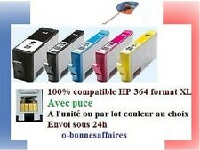 CARTOUCHES COMPATIBLES HP 364 XL AVEC PUCE Photosmart e-All-in-One B110F SS 48H