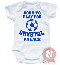 Naughtees Clothing I/'m A Blackpool Supporter Daddy Says Football Babygrow White